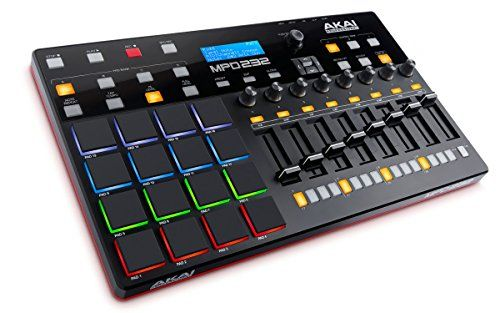 AKAI Pro essional MPD232 | 16-Pad USB/MIDI Pad Controller with Step-Sequencer and Full Complement of Fully-As No description (Barcode EAN = 0694318016978). http://www.comparestoreprices.co.uk/december-2016-6/akai-pro-essional-mpd232-|-16-pad-usb-midi-pad-controller-with-step-sequencer-and-full-complement-of-fully-as.asp