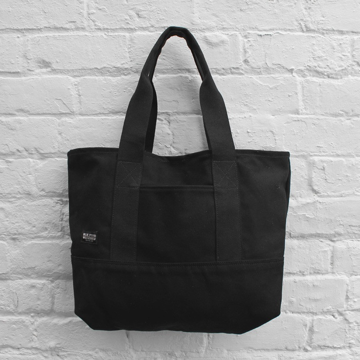 BLK Pine Workshop Medium Tote Bag Black £69.99