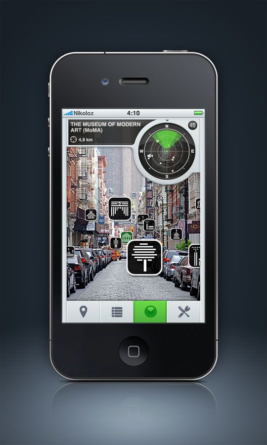 10.iphone user interface