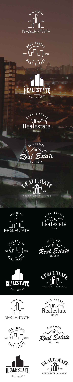 Retro Vintage Badges Ai Volume 2 Real Estate on Behance