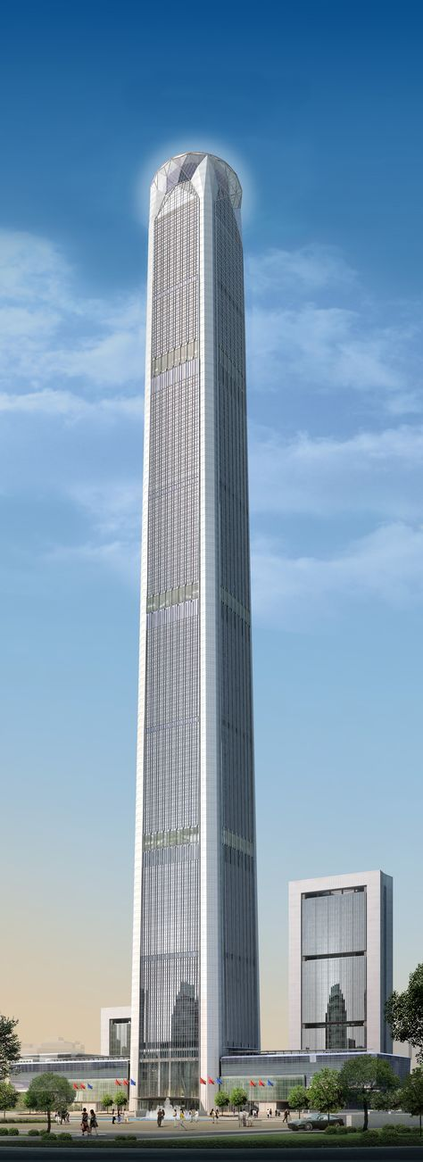 Located in Tianjin, China, the Goldin Finance 117 will tower some 1,959 feet in the sky when it's completed in 2016. Read on for more of the world's tallest buildings.