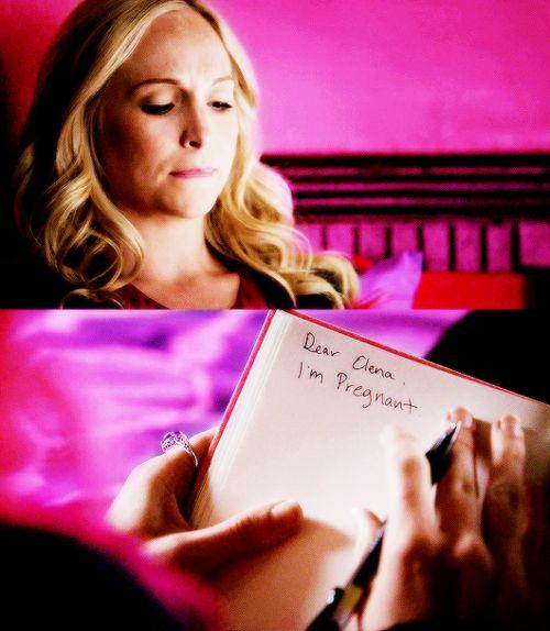 #TVD The Vampire Diaries season 7 Caroline