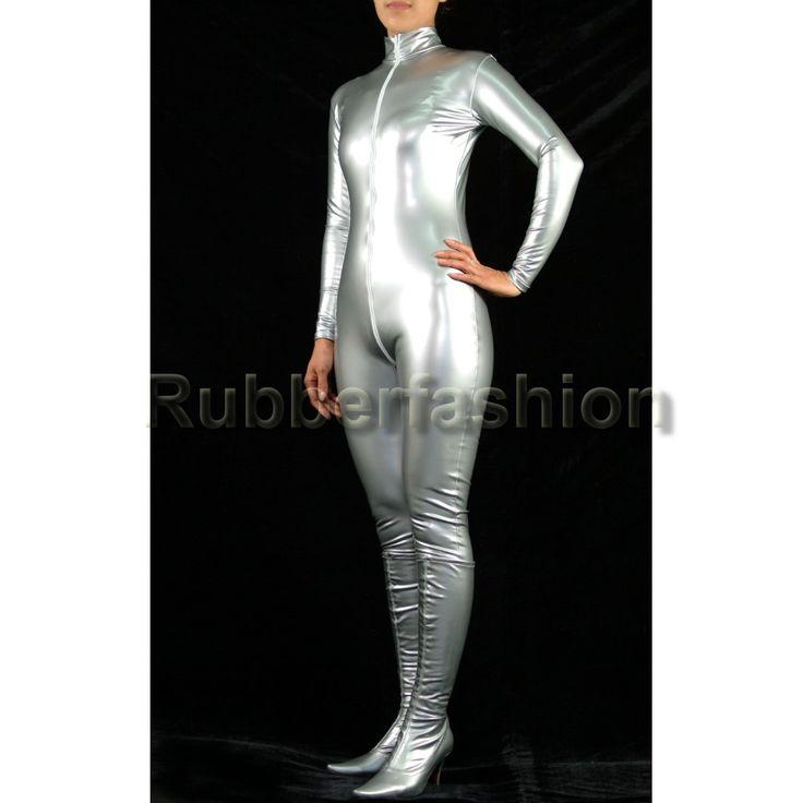 PVC Catsuit aus 100% superweichem hochqualitativem PVC #Lack #PVC #Ganzanzug #Catsuit #Overall #Fetisch #Zip 42.91 EUR inkl. 19% MwSt. zzgl. Versand
