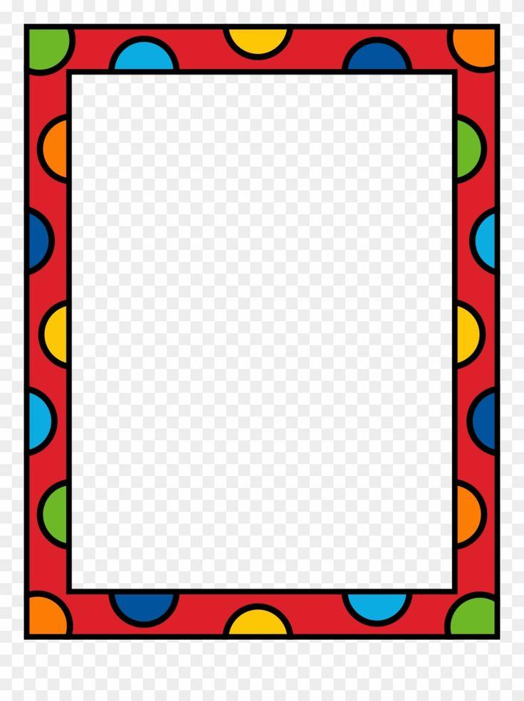 Frame Marcos Pinterest Clip Art Border - Clipart Borders ...
