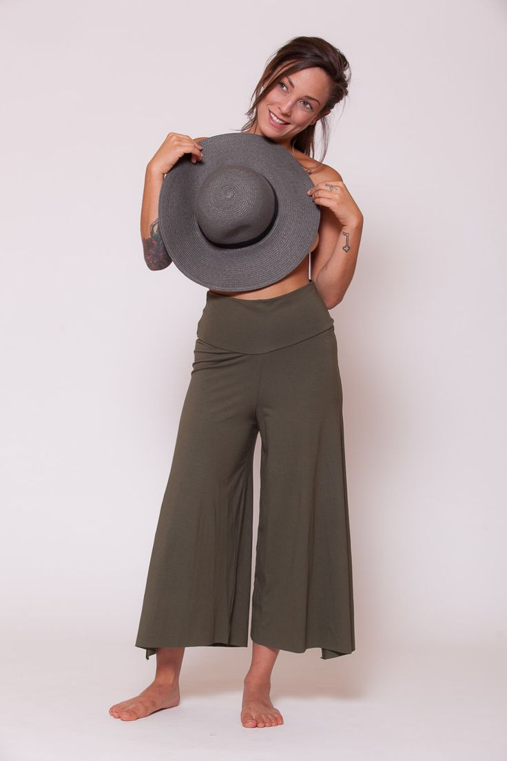 Womens Pants Wide Trousers Yoga Pants Wide Pants Maternity Pants -Olive Green by AlexWomenCreations on Etsy https://www.etsy.com/listing/158180087/womens-pants-wide-trousers-yoga-pants