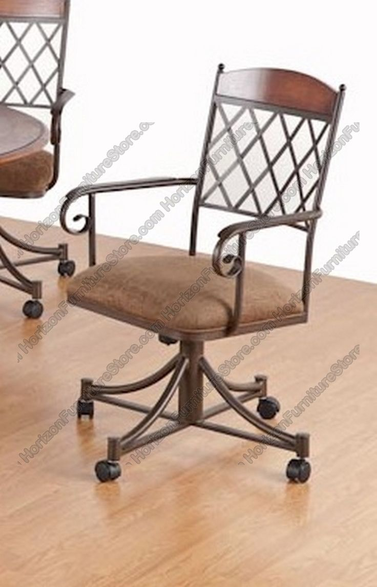 10 best Dining Chairs on Rollers images on Pinterest | Armchairs ...