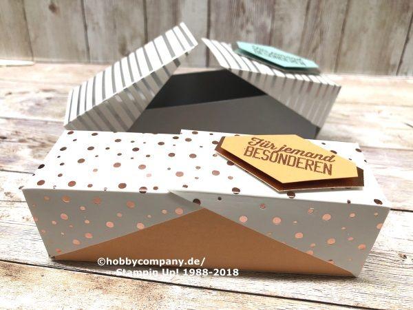 Schachtel Mit Klappdeckel Schnell Und Einfach Basteln