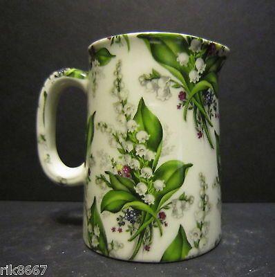 Heron Cross Pottery Lilly Of The Valley Chintz English 1/4 Pint Cream Jug | eBay