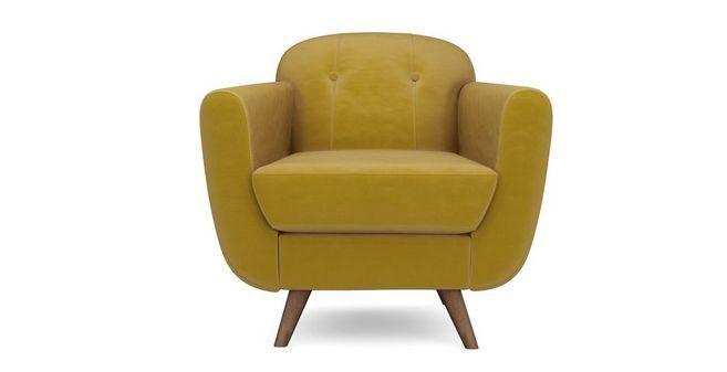 Laze Armchair Velvet | DFS