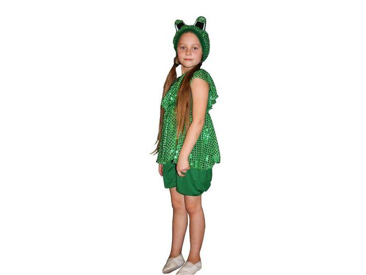 Берет костюм лягушки