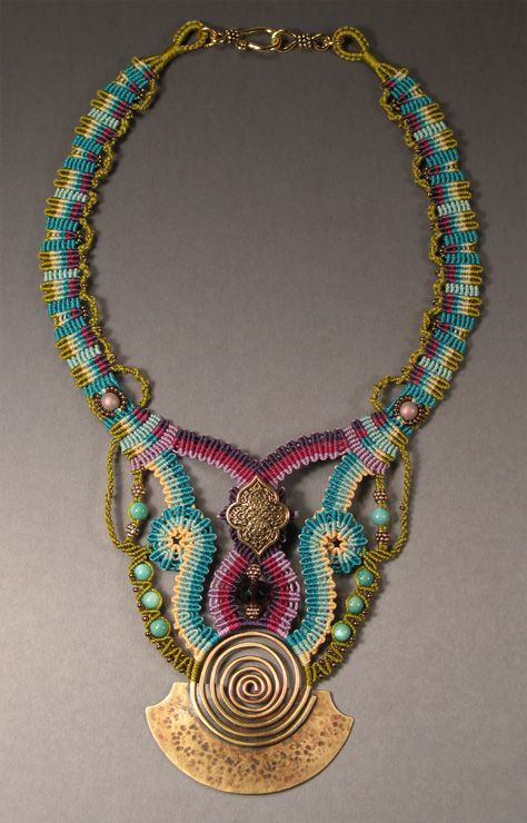 "Joan Babcock - ""Spiral Bell Necklace"""