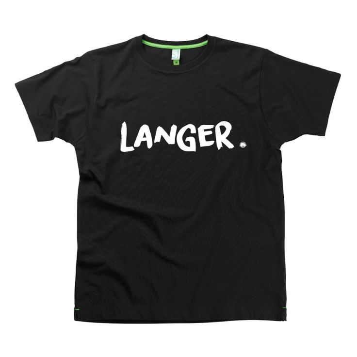 Langer Slogan t-shirts by Hairy Baby