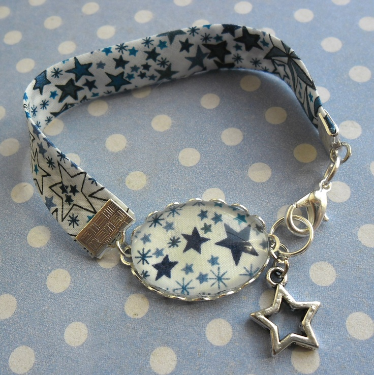 Bracelet Liberty Blue Star