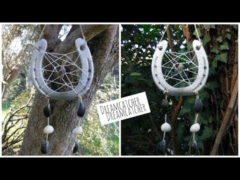 [ DIY ] Horseshoe dreamcatcher. Attrape-rêves avec un fer à cheval - Room decor