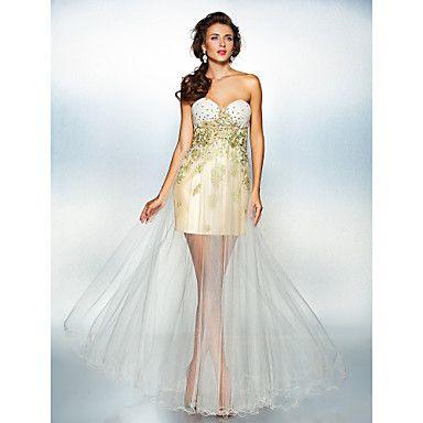Dress A-line Sweetheart Floor-length Tulle Dress – GBP £ 89.70
