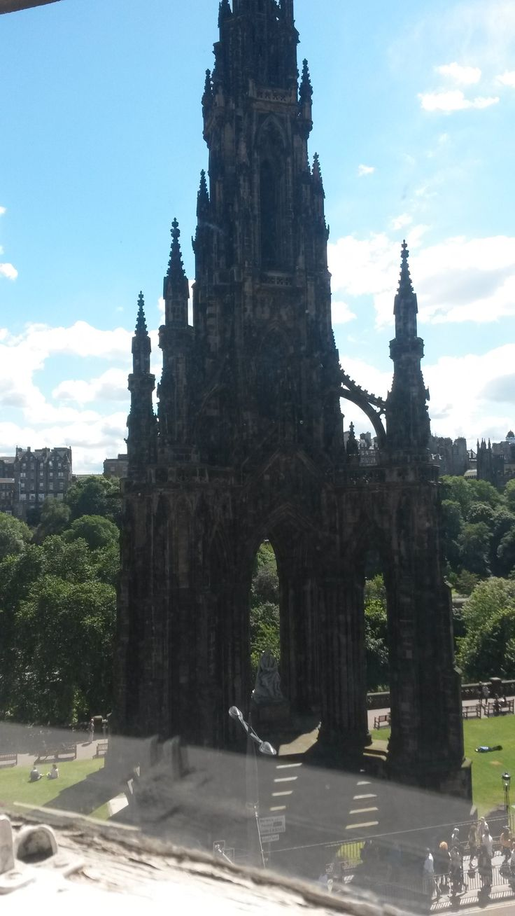 fantastic views of Scott Monument from Old Waverley Hotel. Book your next stay at www.oldwaverley.co.uk.