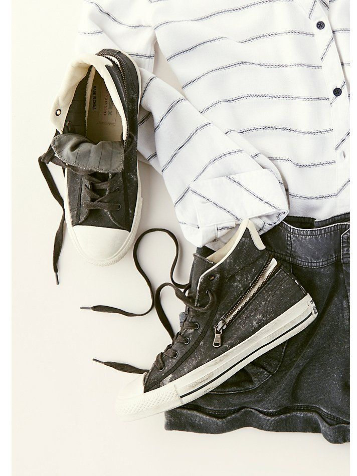 Converse x John Varvatos JV Painted Canvas Chucks at Free People Clothing Boutique