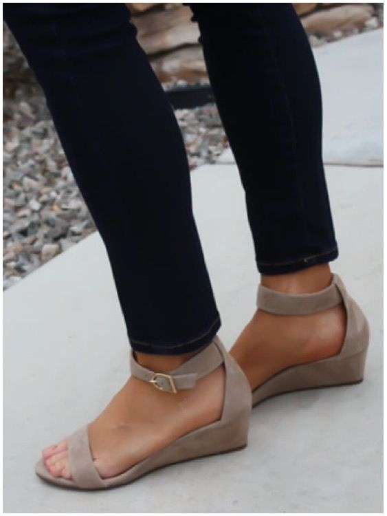 **** Try out Stitch Fix today! Love the height and fit of these nude ankle strap sandals.  Perfect nude color to go with it ALL!  Stitch Fix Spring, Stitch Fix Summer, Stitch Fix Fall 2016 2017. Stitch Fix Spring Summer Fall Fashion. #StitchFix #Affiliate #StitchFixInfluencer