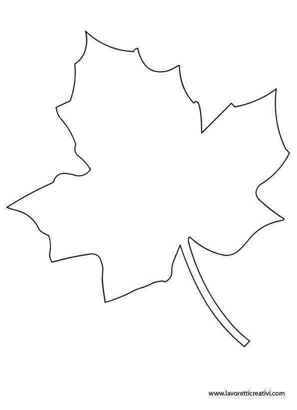 Sagome foglie da ritagliare – 1
