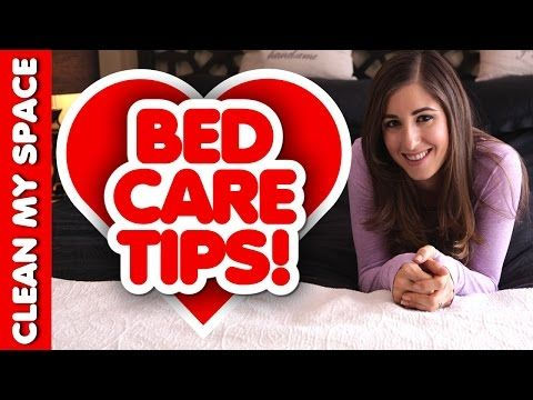 ▶ Get Ready for Valentine's Day: How to Keep Your Bed Clean, Fresh, & in Great Care! Clean My Space - YouTube