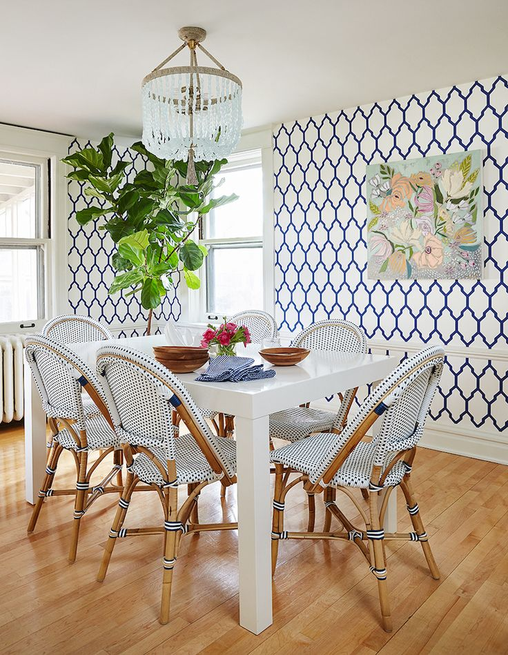 Source: Amie Corley The quintessentially French café chair has become a big hit in the design world. What was once relegated to the cobblestone sidewalks of France has now arrived inside the common home to add a little French touch to houses around the world! From the kitchen to the dining room, French bistro chairs are clearly having a moment …