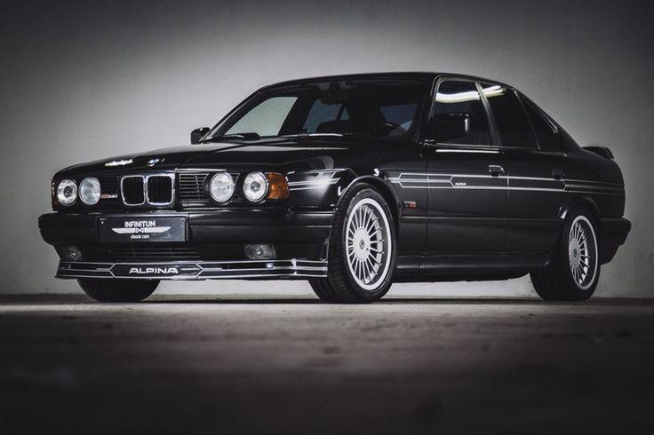 #Alpina с индексом B10, который создан на базе #BMW 5-серии в кузове #E34.  Всего было собрано 572 штуки.