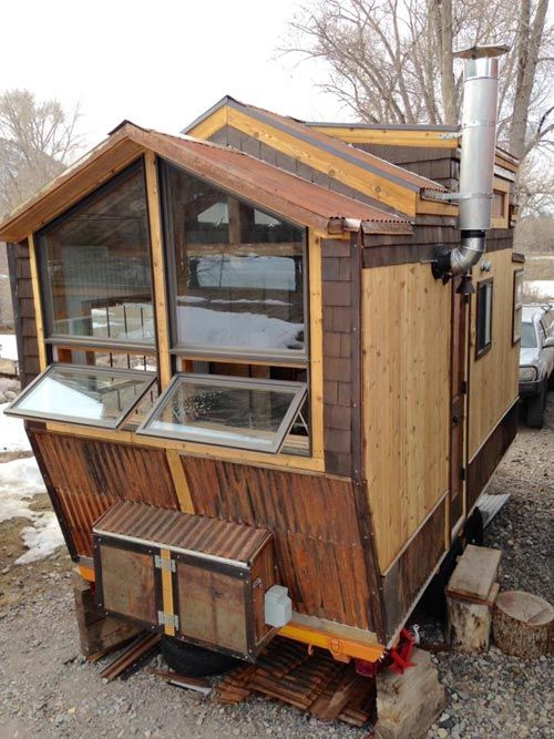 Nautical Mountain House By Jeremy Matlock Tiny House