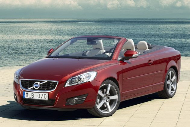 No, it's not a Mercedes...  A Volvo C70 is  great value for the money and whispers with Swedish understatement.  A convertible is just the frosting on the cake.
