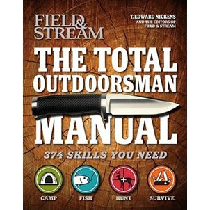 The Total Outdoorsman Manual  is the ultimate guide book for the outdoors enthusiast, packed with  hundreds of practical tips and techniques from T. Edward Nickens and the  experts at Field & Stream magazine, that is guaranteed to improve your hunting, fishing, camping and survival skills.  With practical information for both the beginner and advanced outdoorsman, the book...more