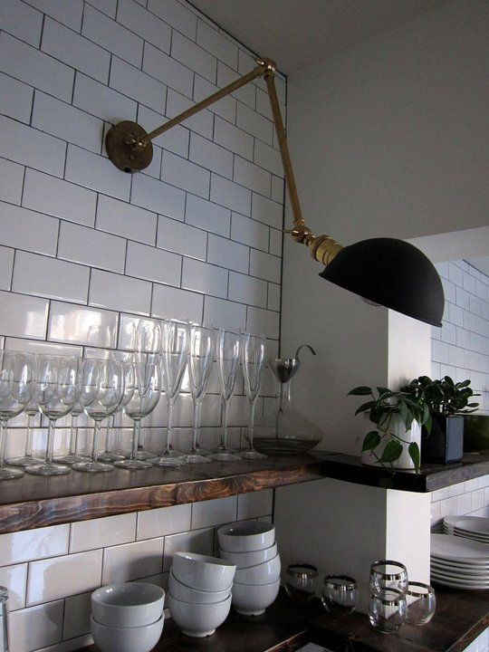 Library Lighting in the Kitchen - #TaskLighting - Christine Pierre's Kitchen: The Big Reveal — Renovation Diary
