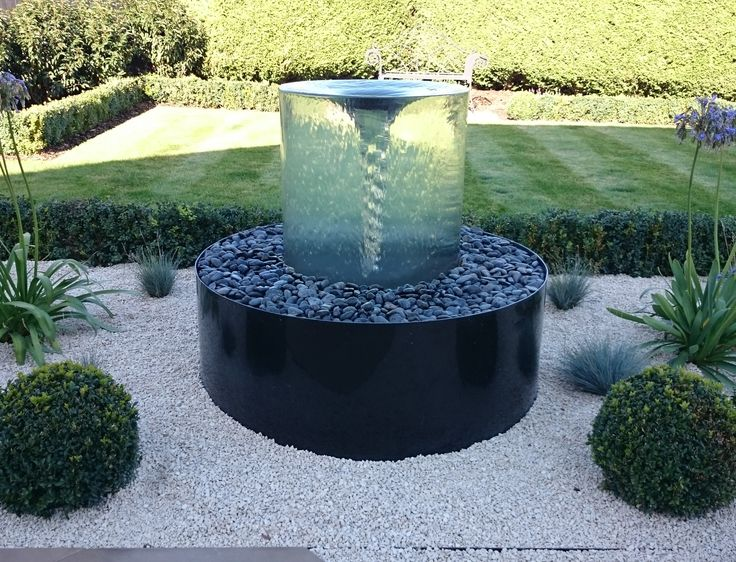 11 best glass water features images on pinterest