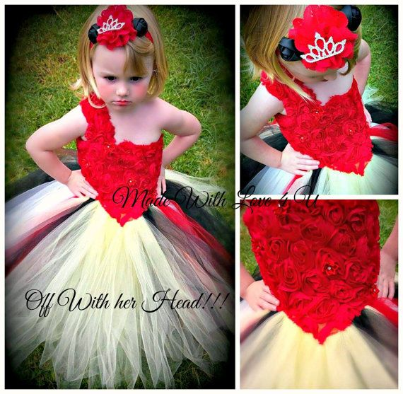 Queen of hearts tutu dress by MadeWithLove4U01 on Etsy