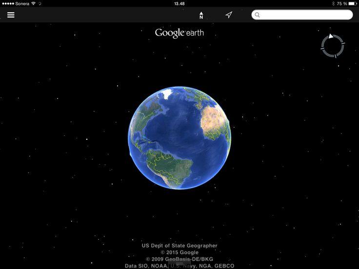 Tapa 122. Matkailua maailman ympäri (Google earth)