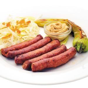 Grillezett kolbász - Megrendelhető itt: www.Zmenu.hu - A vizuális ételrendelő.