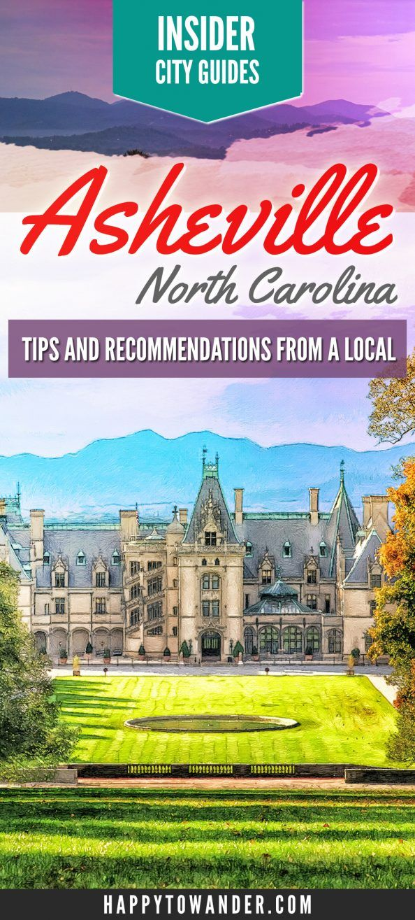 An insider local's guide to Asheville, North Carolina! Find out the local scoop on what to do, where to eat and where to go out!