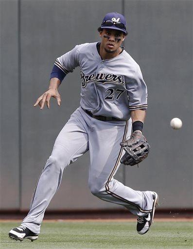 Milwaukee Brewers Carlos Gomez