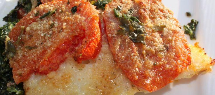 Gebakken Kabeljauwfilet met spinazie en tomaten | Lekker Tafelen