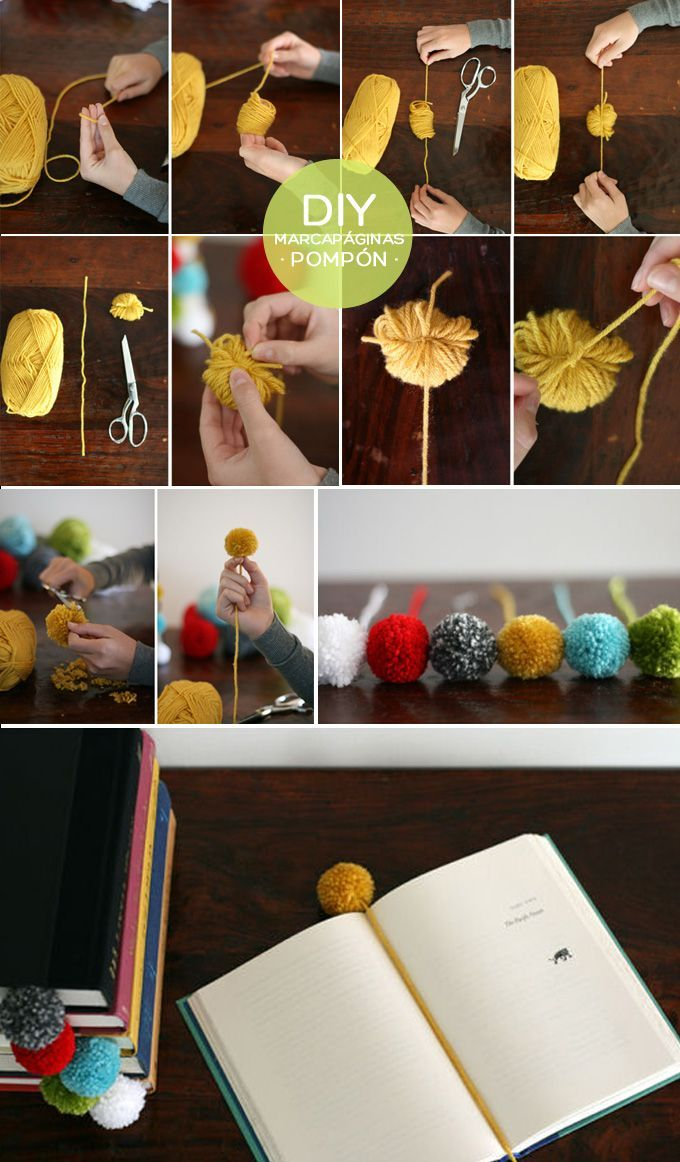 Must do! I've made a lot of pom-poms for knitting, so I've gotten pretty good at them.