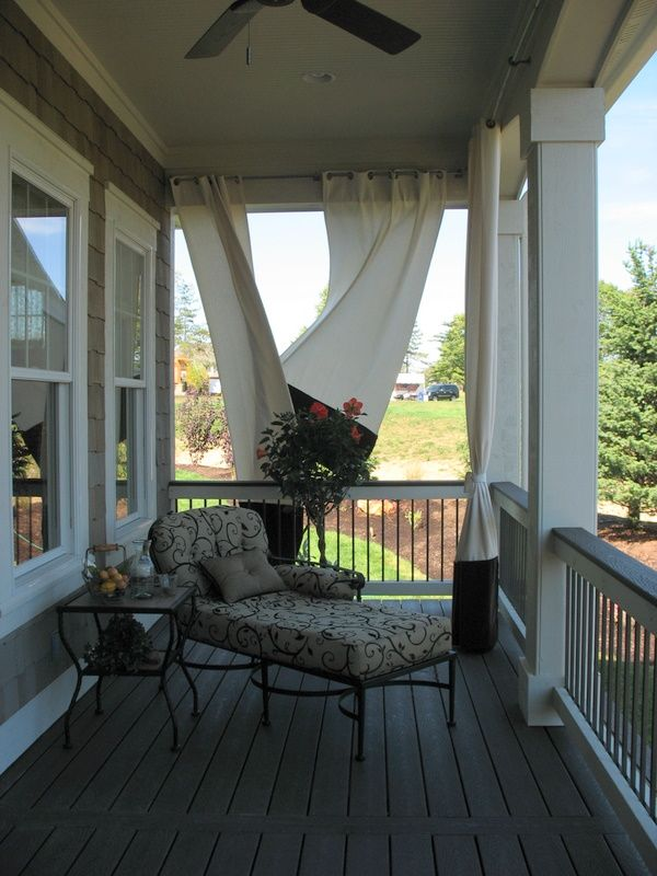 Love The Idea Of A Porch Off The Master Suite... Along With A
