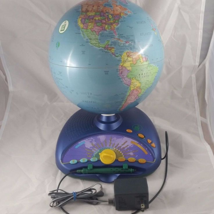 Leapfrog interactive globe. I always wanted one of these as a kid! #Homeschool #Geography #EducationalToys #Classroom