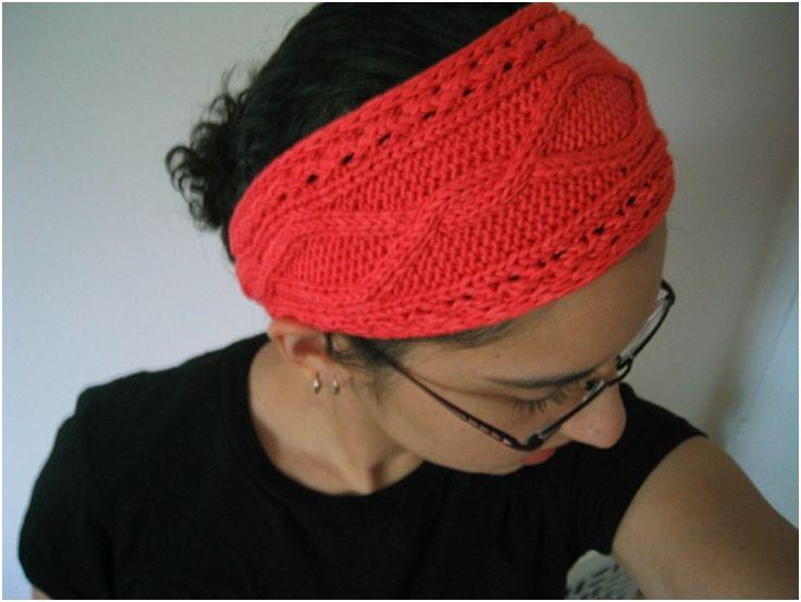 Patterns, Diy headband and Knitting patterns on Pinterest