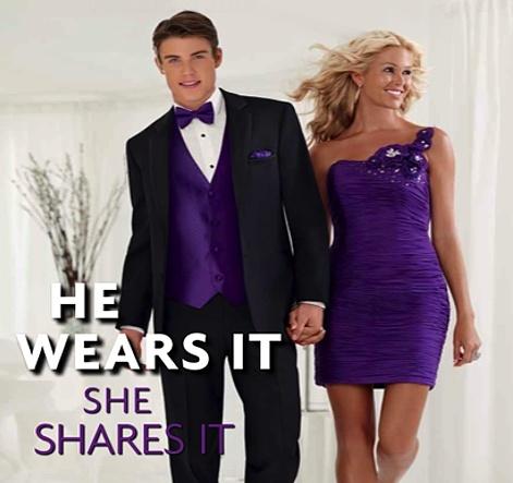 8 best images about Wedding Black Suit Purple Tie Vest on ...