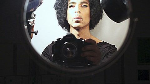 Prince Takes His First Selfie: See the Rare Picture! - Us Weekly