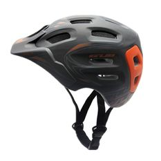 GUB XX7 M size 56-59CM Mountain Road Cycling Bicycle Bike Helmet carbon color With Visor Unisex AM DH - Intl