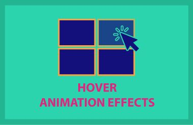 Hover Animation Effects Free