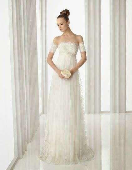 Vestidos de novia para embarazadas: Fotos de trajes nupciales   (36/56) | Ellahoy