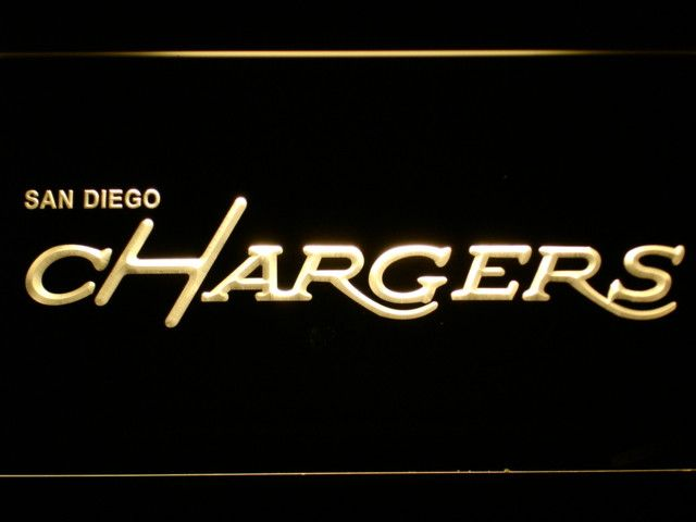 San Diego Chargers 1974-1987 LED Neon Sign - Legacy Edition