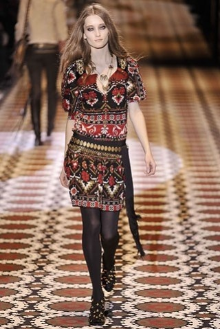 Gucci minidress etnico