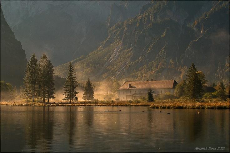 Morgens, Almsee, Austria