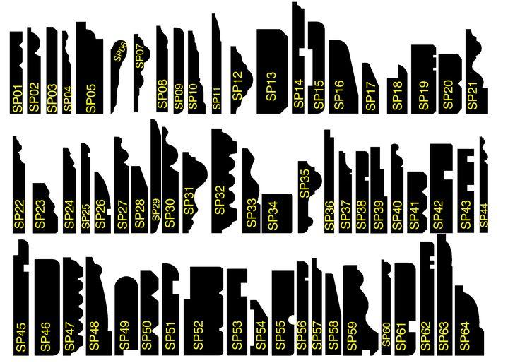 MDF Skirting Board Profile Range from SkirtingBoards.com